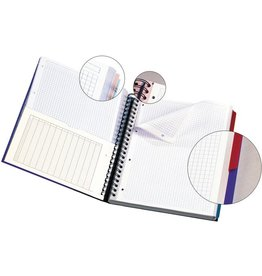 Oxford Collegeblock EUROPEAN BOOK, kar., A4+, 90g/m², Pap., weiß, 120Bl.