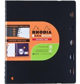 RHODIA Collegeblock Exactive® EXABOOK, liniert, A4+, Einband: schwarz, 80Bl.