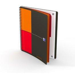 Oxford Collegeblock International Activebook, kariert, B5, 90 g/m², 80 Blatt