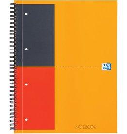 Oxford Collegeblock NOTEBOOK, liniert 6 mm, A4, holzfrei, weiß, 80 Blatt