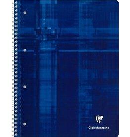 Clairefontaine Collegeblock, blau, kar., A4+, 80Bl.
