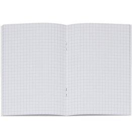 K&E Geschäftsbuch, Glanzkarton, kariert, A6, Einband: blau, 32 Blatt [10st]