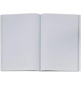 K&E Geschäftsbuch, Glanzkarton, liniert, A4, Einband: blau, 96Bl.