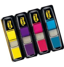 Post-it Haftmarker Index Mini 683, lemon/lila/pink/türkis, 35 Blatt