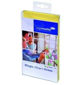 Legamaster Haftnotiz Magic-Chart Notes, rechteckig, 10 x 20 cm, gelb