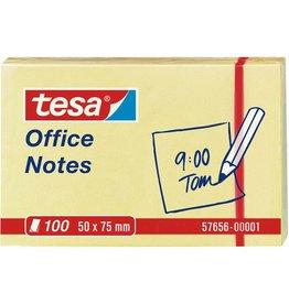 tesa Haftnotiz Office Notes, 50x75mm, gelb, 100Bl.