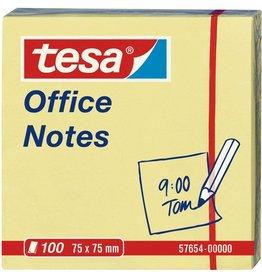 tesa Haftnotiz Office Notes, 75x75mm, gelb, 100Bl.