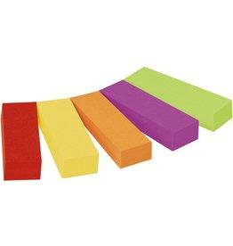 Post-it Haftnotiz Page Marker, 12,7 x 44,4 mm, 5farbig sortiert, 50 Blatt