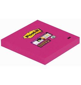 Post-it Haftnotiz Super Sticky, 76 x 76 mm, pink, 90 Blatt