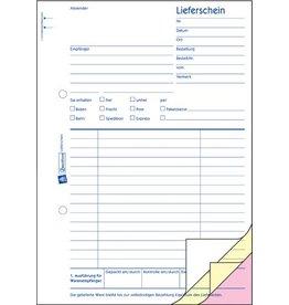 AVERY Zweckform Liefer-/Empfangsschein, A5h, 3f., sd, 1./2./3.Bl.bedr., 3x40Bl.
