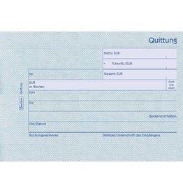 AVERY Zweckform Quittung mit MwSt.-Nachweis, Karton, A6q, RC, 100Bl.
