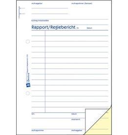 AVERY Zweckform Regiebericht, A5, 2f., sd, 1./2.Bl.bedr., 2x40Bl.