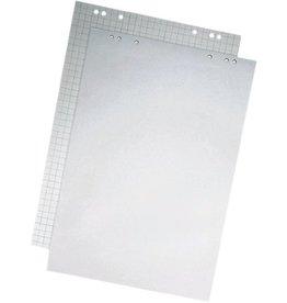 STAPLES Flipchartblock, kariert/blanko, 68x99cm, RC, hellgrau, 20 Blatt