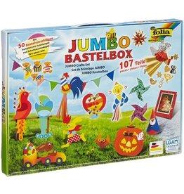 folia Bastelfolie Jumbo Bastelbox, 25,8 x 36 cm