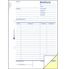 AVERY Zweckform Bestellung, A5h, 2f., sd, 1./2.Bl.bedr., 2x40Bl.