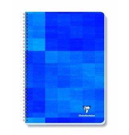 Clairefontaine Collegeblock, kar., 4f.Loch., A4, 90g/m², sat.Pap., blau, 80Bl.