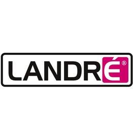 LANDRÉ Collegeblock, kariert 5 mm, 4f.Loch., A4, 70g/m², weiß, 80 Blatt [10st]