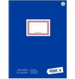 Ursus ÖBlock Collegeblock, liniert 9 mm, A4, 70 g/m², RC, weiß, 80 Blatt
