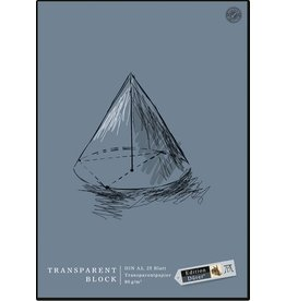 Edition Dürer Entwurfblock, A3, 60 g/m², transparent, 25 Blatt
