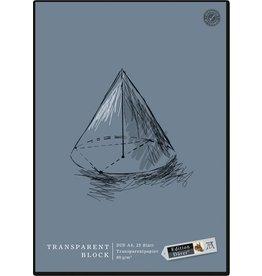 Edition Dürer Entwurfblock, A4, 80 g/m², transparent, 25 Blatt