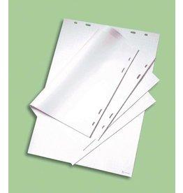 nobo Flipchartblock, blanko, 58,4 x 48,3 cm, 70 g/m², weiß, 40 Blatt