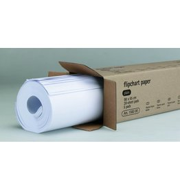 Legamaster Flipchartblock, blanko, 65 x 98 cm, 80 g/m², holzfrei, weiß, 20 Blatt