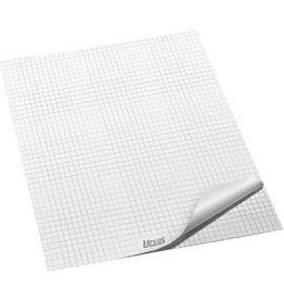 Ursus Flipchartblock, kariert, 68 x 99 cm, 80 g/m², ECF, weiß, 20 Blatt