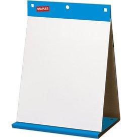 STAPLES Flipchartblock, selbsthaftend, blanko, 50x58,5cm, 80g/m², 20Bl.