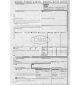RNK Frachtbrief CMR, A4, 4f., sd, 50 x 4 Blatt