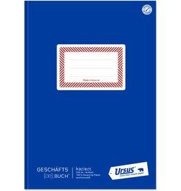 Ursus ÖBuch Geschäftsbuch, kariert 5 mm, A4, 80 g/m², 96 Blatt