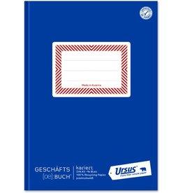 Ursus ÖBuch Geschäftsbuch, kariert 5 mm, A5, 80 g/m², 96 Blatt