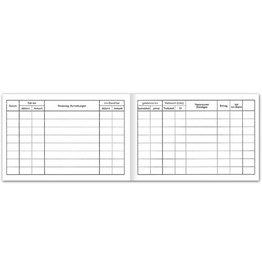 Ursus Geschäftsbuch, T153, A6, 80 g/m², 54 Blatt