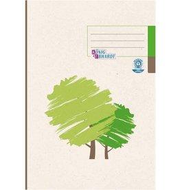 K&E Geschäftsbuch, UWS-Karton, kariert 5 mm, A4, RC, 96 Blatt