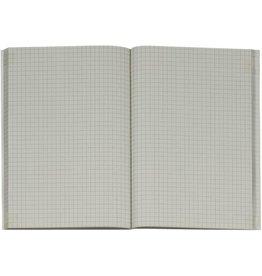 K&E Geschäftsbuch, UWS-Karton, kariert 5 mm, A5, RC, 96 Blatt