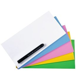 Legamaster Haftnotiz Magic-Chart Notes, rechteckig, 10 x 20 cm, 5farbig sortiert