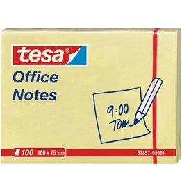 tesa Haftnotiz Office Notes, 100x75mm, gelb, 100Bl. [12st]