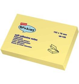 STAPLES Haftnotiz stickies™, 101 x 76 mm, gelb, 100 Blatt