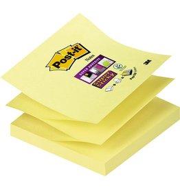 Post-it Haftnotiz Super Sticky Z-Notes, 76 x 76 mm, gelb, 90 Blatt