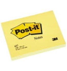 Post-it Haftnotiz, 102 x 76 mm, gelb, 100 Blatt