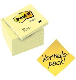 Post-it Haftnotiz, 76 x 76 mm, gelb, 100 Blatt