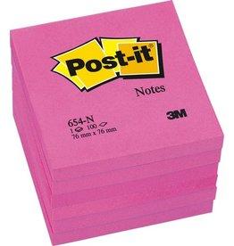 Post-it Haftnotiz, 76x76mm, neonpi, 100Bl.