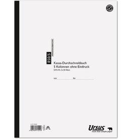 Ursus Kassenbuch, 850/5, A4, 70 g/m², 2 x 50 Blatt