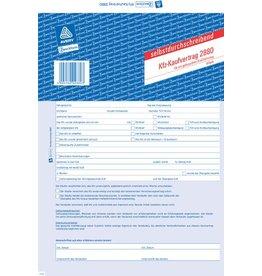 AVERY Zweckform Kfz-Kaufvertrag, Gebrauchtwagen, A4, 4f., sd