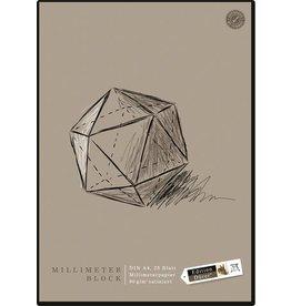 Edition Dürer Millimeterblock, A4, 90 g/m², 25 Blatt