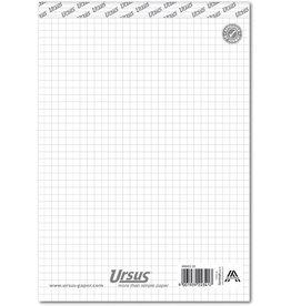 Ursus Notizblock, kariert 5 mm, A5, 60 g/m², 48 Blatt