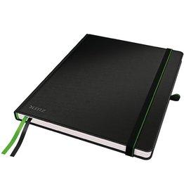 LEITZ Notizbuch Complete, kariert, 187x244mm, Einband: schwarz, 80Bl.