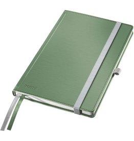 LEITZ Notizbuch Style, kariert, A5, Einband: seladon grün, 80 Blatt