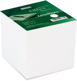 LANDRÉ Notizwürfel, 90 x 90 x 90 mm, weiß, 700 Blatt