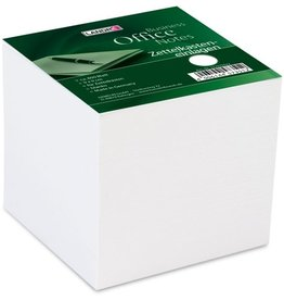LANDRÉ Notizzettel, 90 x 90 mm, weiß