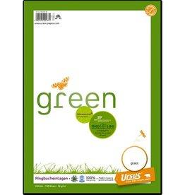 Ursus Green Ringbucheinlage, blanko, A4